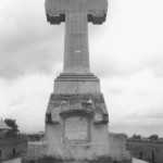 Cross commemorating the Battle of Calugareni